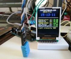 Arduino environment monitor clock