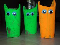 Toddler Craft - Halloween Monsters Toddler Arts And Crafts, Halloween Arts And Crafts, Halloween Activities, Halloween Kids, Toddler Activities, Daycare Crafts, Classroom Crafts, Classroom Fun, Daycare Ideas