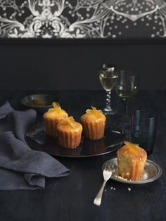 Sugared citrus cakes from Gourmet Traveller