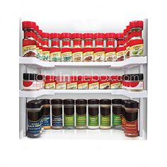 Spicy Shelf Spice Rack and Stackable Organizer 2017 - $26.99