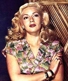 Lana Turner. SUCH amazing hair!