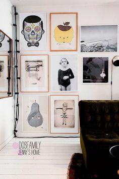 Decorar con fotografías: 15 ejemplos con alma | DECORA TU ALMA - Blog de decoración, interiorismo, niños, trucos, diseño, arte...