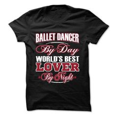 ballet dancer T Shirts, Hoodies, Sweatshirts. CHECK PRICE ==► https://www.sunfrog.com/LifeStyle/ballet-dancer.html?41382