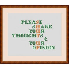 Share Your Thoughts and Your Opinions Funny Humor Novelty | Etsy Cross Stitch Quotes, Mini Cross Stitch, Cross Stitch Kits, Cross Stitch Embroidery, Embroidery Patterns, Sewing Patterns, Funny Cross Stitch Patterns, Cross Stitch Designs, Stitch Doll