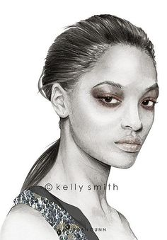 Ideas for fashion girl drawing kelly smith Liz Clements, Fashion Model Sketch, Fashion Drawings, Fashion Sketches, Fashion Show Poster, Kelly Smith, Pin Up Illustration, Fashion Design For Kids, Model Face
