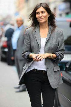 Emmanuelle Alt, l'incarnation du style effortless chic !