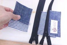 コインキーケースの作り方[型紙無料ダウロード] | ひらめき工作室 Kraft Bag, Sewing Patterns, Bags, Accessories, Fashion, Diy And Crafts, Totes, Coin Purses, Objects
