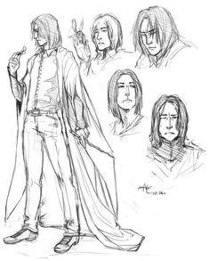Severus Snape by NesCafe916 on deviantART