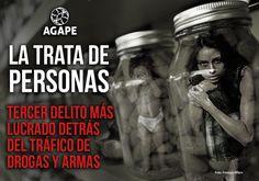 La trata de personas - Tercer delito más lucrado detrás del tráfico de drogas y armas