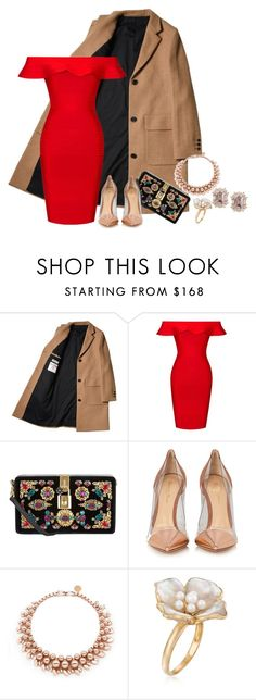 """""""Evening event"""" by x3theresax3 on Polyvore featuring Posh Girl, Dolce&Gabbana, Gianvito Rossi, Ellen Conde and Ross-Simons"""