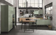"COLOMBINI CASA EXTENDS ITS COLLECTIONS PRESENTING THREE IMPORTANT NOVELTIES OF ARTEC, SOFUP ED ARCADIA. ARTEC: ISLA 2016 To the already extensive range of kitchens in the Artec collection, we add ISLA, a kitchen designed to allow greater freedom of expression and to transform the functions of modern, industrial or more romantic living spaces. ISLA's characteristic element is its special ""diamond-cut"" door design, which creates pleasant patterns of light on its surfaces. With its integrated…"