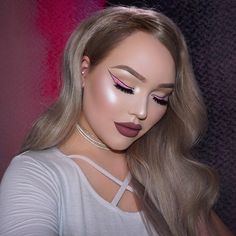"175k Likes, 581 Comments - NikkieTutorials (@nikkietutorials) on Instagram: ""Cartoon liner, baby! Am I @perrieedwards yet? NEW video now up on my channel ➡️ link in bio! I'm…"""