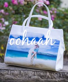 Coogee simply upload your favourite image to our website to create your own designer handbag Designer Handbags, Your Favorite, Pu Leather, Gym Bag, Create Your Own, Range, Colours, Tote Bag, Website