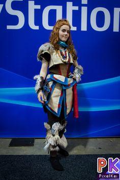 Cosplayer: Ibelinn Cosplay;  Photographer: PixelKei  #horizonzerodawn #cosplay #aloy #spilexpo2015