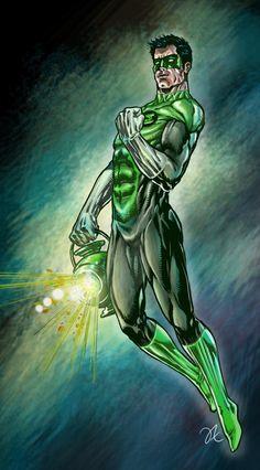 Green Lantern - Iwan Nazif
