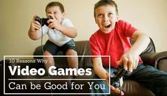 10 reasons why video games are good for you with our comprehensive list debunking the theory that video game are only harmful. Clinical studies included!