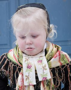Girl in traditional folk costume from Røros,Norway