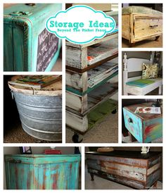 DIY 8 Country Farmhouse Styled Storage Solutions ! With full tutorials