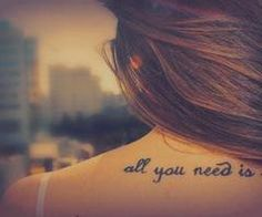 the Best  All you need is love
