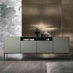 MODERN SIDEBOARD|  a simple design sideboard for a luxury interior | bocadolobo.com/ #modernsideboard #sideboardideas