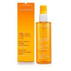 Clarins Sun Care - Body Sun Care Spray Oil-Free Lotion Progressive Tanning SPF 15 (For Outdoor Sports)