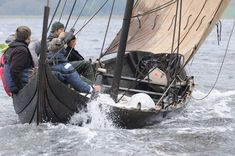 Sailing with Kraka Fyr. Photo: Werner Karrasch