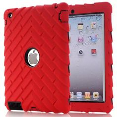 New style original quality Hard Silicone Rubber Case Cover For Apple ipad 2/3/4 display for Apple iPad logo,SKU 0134R