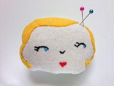 We Made It: Pincushion Gal | by Maker Mama