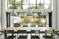 back deck sliders - folding glass door Green Eyed Real Estate: A Look Inside 6 Envy-Inducing New York City Homes