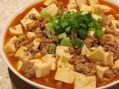 Tofu Beef - Green Tea House Chinese Restaurant - Zmenu, The Most Comprehensive Menu With Photos Tofu Recipes, Baby Food Recipes, Wok, Mapo Tofu Recipe, Popular Chinese Dishes, Chinese Recipes, Tofu Chicken, Chinese Cooking Wine, Ginger Pork
