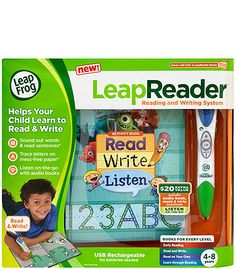 "LeapFrog LeapReader Reading and Writing System - Green - LeapFrog - Toys ""R"" Us $49"