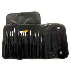 bb803d279a85 MASH Professional 15 piece Nail Art Brush Kit Set - MASH is proud to  introduce its first set of Nail Art brushes! The same great MASH quality  you have come ...