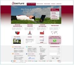Página web diseñada por Markarte