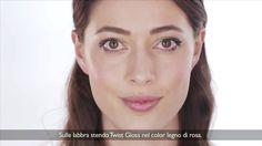 #makeup Tutorial Collezione Twist®: realizza un #trucco #occhi e #labbra veloce e luminoso
