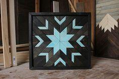 Art bois moderne Art mural bois Art bois géométrique Art