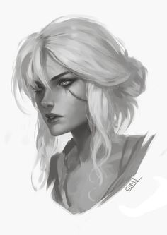 Ciri – The Witcher 3 fan art by Soufiane Idrassi The Witcher, Ciri Witcher, Witcher Art, Character Concept, Character Art, Concept Art, Fantasy Characters, Female Characters, Witcher Wallpaper