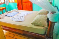 Bed from closet  Ranchitos Las Cotingas Drake Bay, Osa Peninsula Costa Rica #travel #budget #vacation