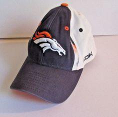 e2618faa6 Denver-Broncos-NFL-Football-Reebok-Baseball-Hat-Cap-Blue-Orange-White