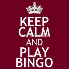 KEEP CALM AND PLAY BINGO Bingo Meme, Bingo Quotes, Bingo Clipart, Vinyl Shirts, Tee Shirts, Bingo Pictures, Bingo Night, Words Of Appreciation, Circuit Crafts
