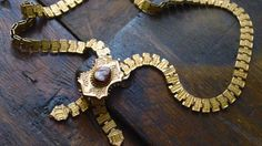 SALE SaLe Victorian CaMeo Bookchain Necklace by CrownofLifegems, $145.00