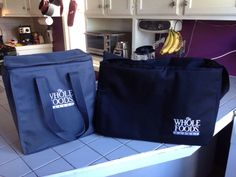 I love my bags I have these and the quilted bags - Insulated bags from Whole Foods