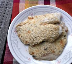Words Of Deliciousness: Broiled Tilapia Parmesan