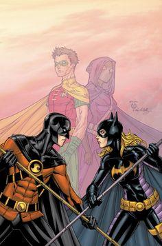 Tim Drake (Red Robin) & Stephanie Brown (Batgirl) in Red Robin # 10 - Cover Art by Marcus To, & Ray McCarthy Batwoman, Nightwing, Dc Batgirl, Batgirl And Robin, Batman Robin, I Am Batman, Batman Comic Art, Gotham Batman, Batman Stuff