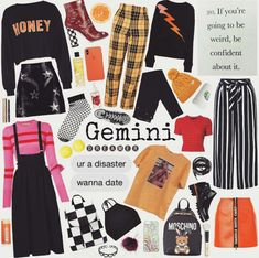Aesthetic Look, Aesthetic Fashion, Aesthetic Clothes, Aesthetic Collage, Grunge Outfits, Fashion Outfits, Gemini And Virgo, Gemini Zodiac, Zodiac Clothes