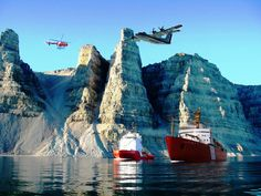 Canadian Coast Guard, Atlantic Region. Fan page picture.  A once in a lifetime photo.