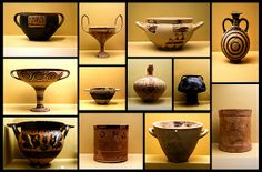 antique pottery collection