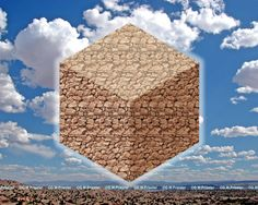 Magical Cube Stereogram by Gary W. Priester