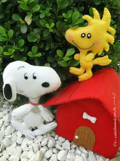 Snoopy feltro