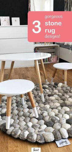 Whether you are looking for ideas for a boys or girls bedroom, Sukhi's handmade 100% stone wool felt ball rugs are the perfect addition to a kids room. With the softest texture and 3 modern and gorgeous designs and offer free worldwide shipping to all our customers! 📷: @art_cora_ Kid Friendly Rugs, Stone Rug, Felt Ball Rug, Slow Design, Wool Rugs, Round Rugs, Rug Making, Girls Bedroom, Wool Felt
