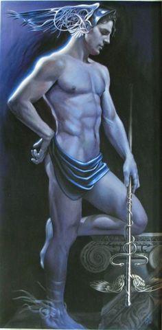 Na mitologia romana, Mercúrio (associado ao deus grego Hermes) é um mensageiro…